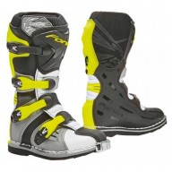 Minicross Boots FORMA Cougar Grey Fluo