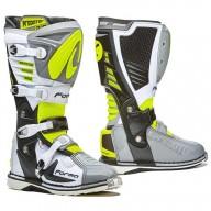 Motocross Stiefel FORMA Predator 2.0 Grau Fluo
