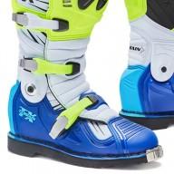Botas Motocross FORMA Terrain TX Amarillo Fluo Azul