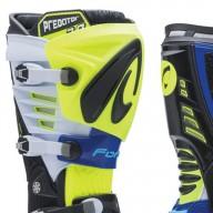 Motocross Stiefel FORMA Predator 2.0 Gelb Fluo Blau