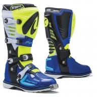 Bottes Motocross FORMA Predator 2.0 Jaune Fluo Bleu