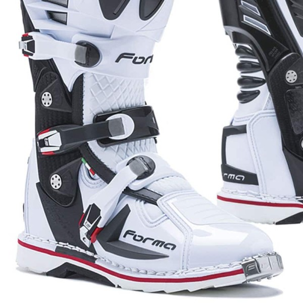 Bottes Motocross FORMA Predator 2.0 Blanc