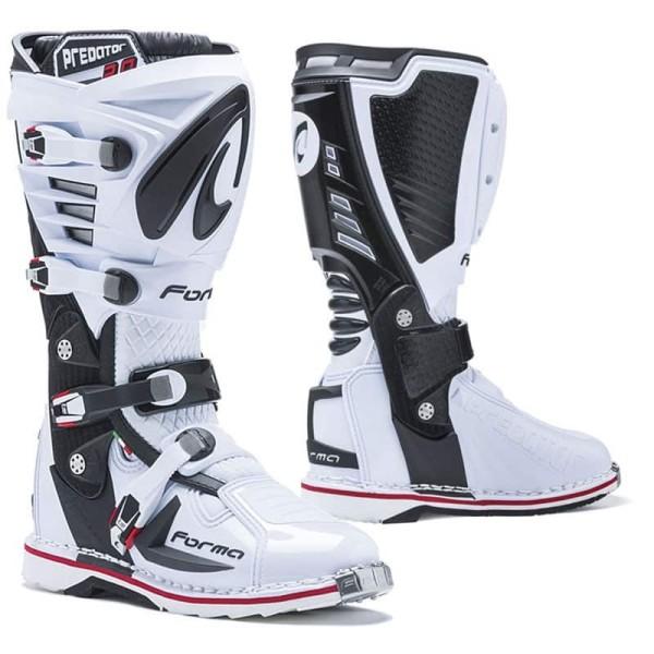Botas Motocross FORMA Predator 2.0 Blanco