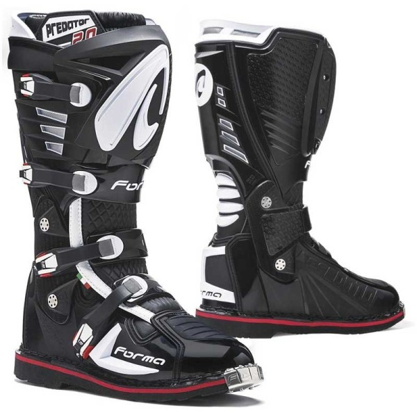 Motocross Stiefel FORMA Predator 2.0 Schwarz