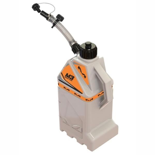 Gasoline Can Motocross Matrix M3 Orange