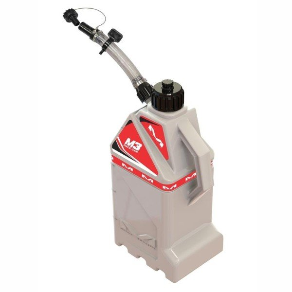 Gasoline Can Motocross Matrix M3 Red