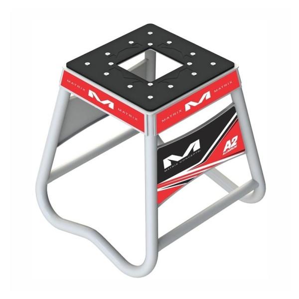 Motocross Hubstander Matrix Aluminum Stand A2 Rot