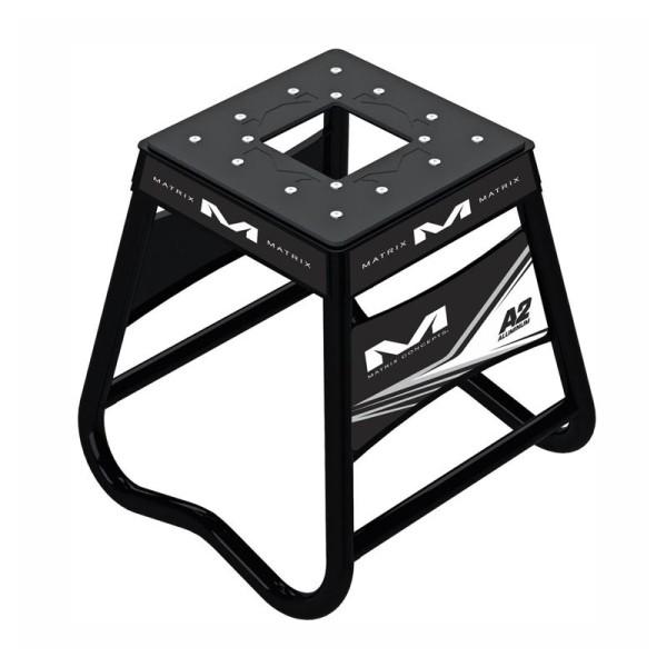 Bequille Motocross Matrix Aluminum Stand A2 Noir