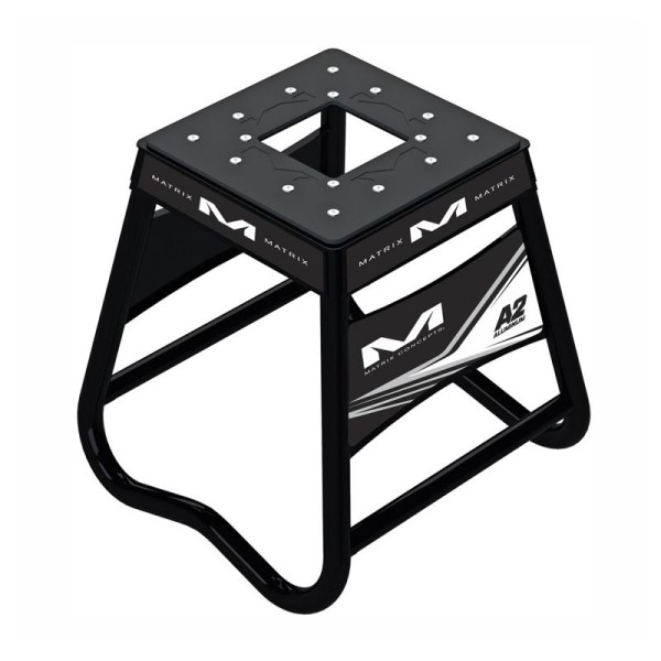 Motocross Hubstander Matrix Aluminum Stand A2 Schwarz