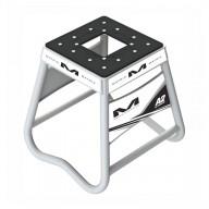 Bequille Motocross Matrix Aluminum Stand A2 Blanc