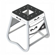 Caballete Motocross Matrix Aluminum Stand A2 Blanco