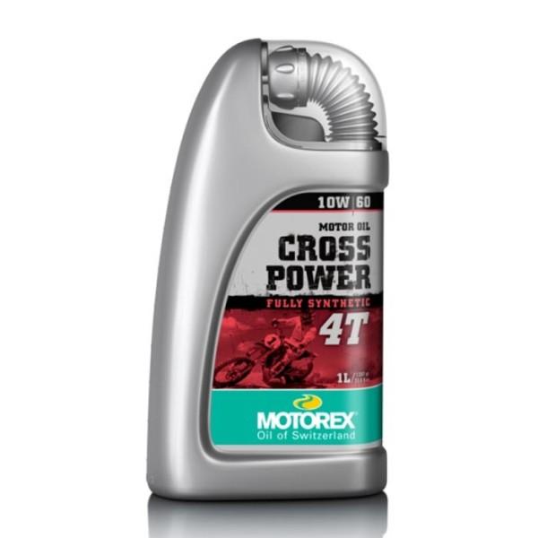 Engine Oil Motorex CROSS POWER 4T 10W-60