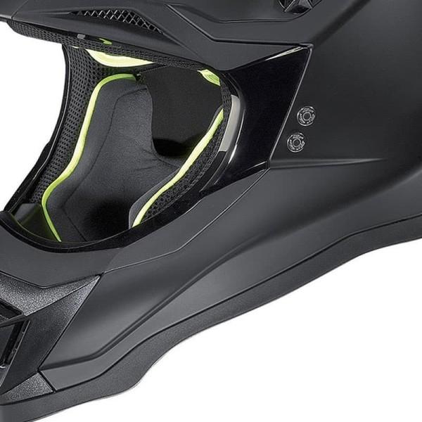 Motocross Helm Nolan N53 FLAT BLACK