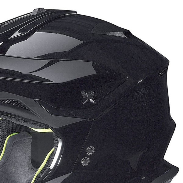 Casque Motocross Nolan N53 FLAT BLACK