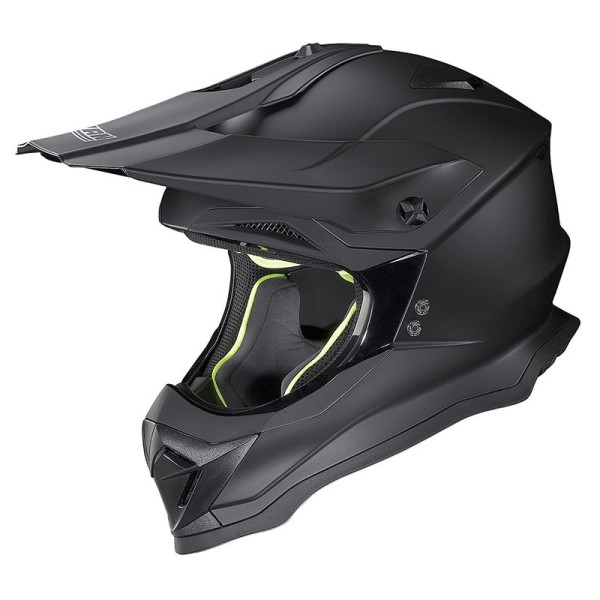 Casco de Motocross Nolan N53 FLAT BLACK