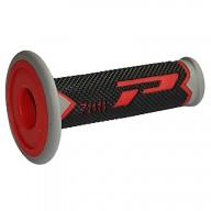Puños del manillar Progrip Triple Composite 788 Red Black