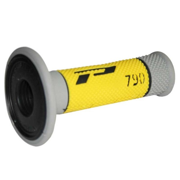 Puños del manillar Progrip Triple Composite 790 Grey Yellow