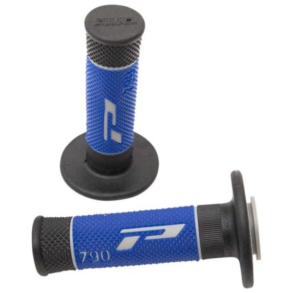 Puños del manillar Progrip Triple Composite 790 Grey Blue