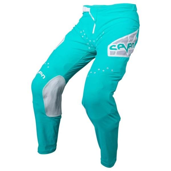 Pantaloni motocross Seven Zero Vandal aqua