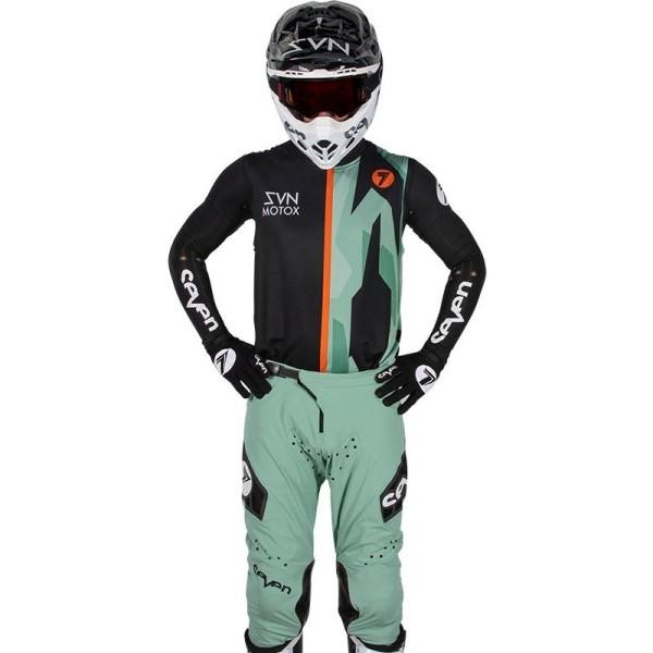 Motocross trikot Seven Zero Raider Over paste