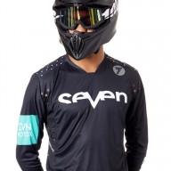 Motocross Trikot Seven Rival Trooper Black