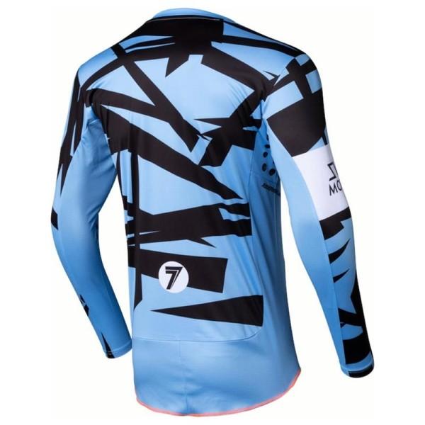 Motocross trikot Seven Rival Trooper 2 blue