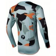 Camiseta motocross Seven Rival Trooper 2 Paste