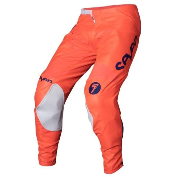 Pantalon motocross Seven Annex Bortz coral navy