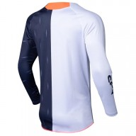 Camiseta motocross Seven Annex Bortz coral navy