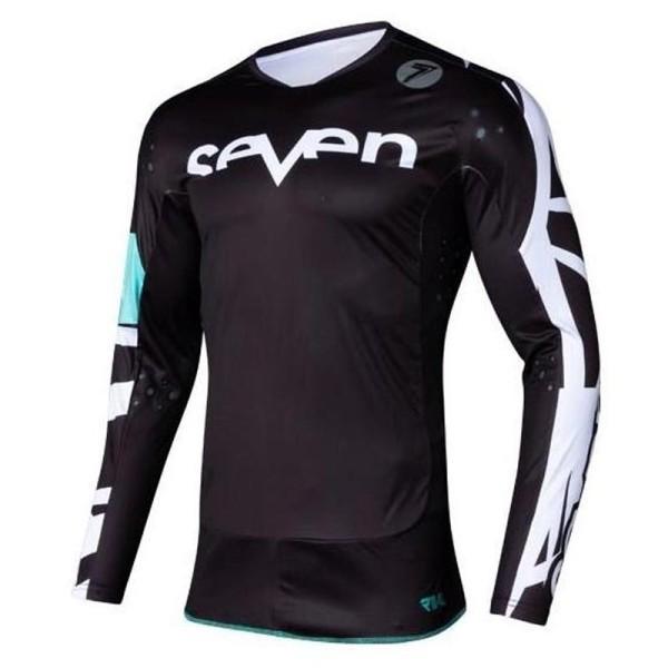 Motocross trikot Seven Rival Trooper 2 black