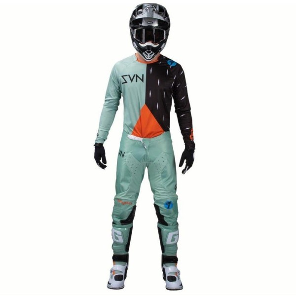 Pantalon motocross Seven Annex Bortz Paste