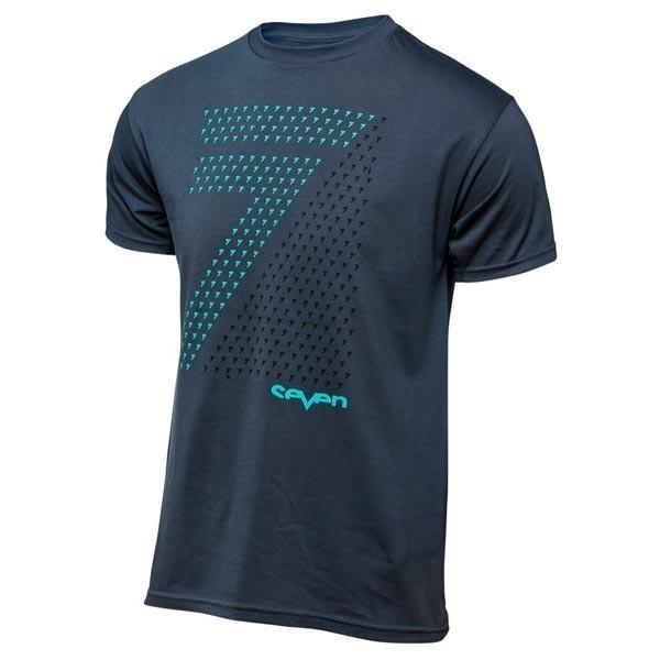 T-shirt Motocross Seven Pennon Blue