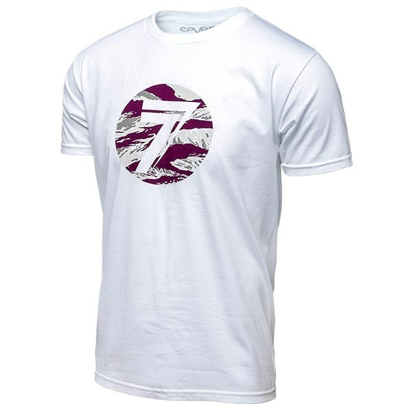 Camiseta Motocross Seven Dot White