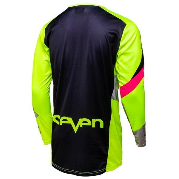 Camiseta Minicross Seven Annex Ignite Fluo