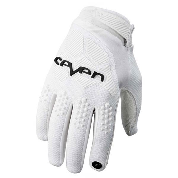Guantes Motocross Seven Rival White