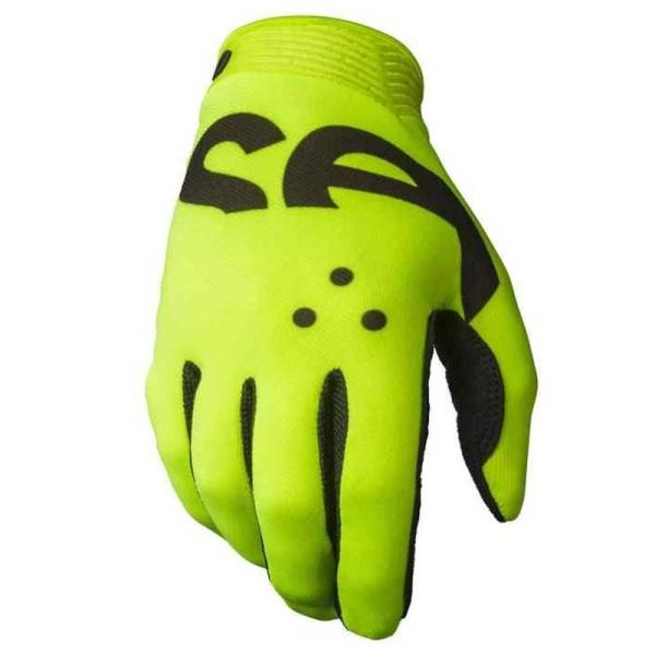 Motocross Gloves Seven Zero Crossover Yellow