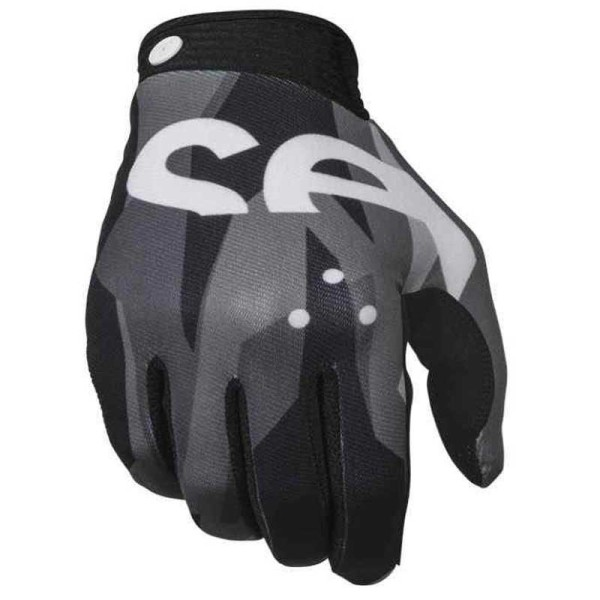 Gants Motocross Seven Zero Crossover Black