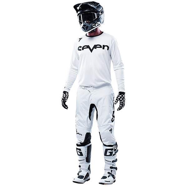 Motocross Hosen Seven Annex Staple White