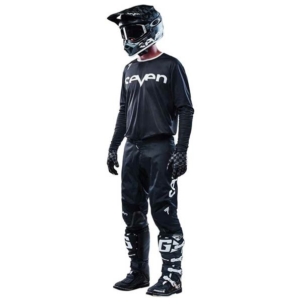 Maillot Motocross Seven Annex Staple Black