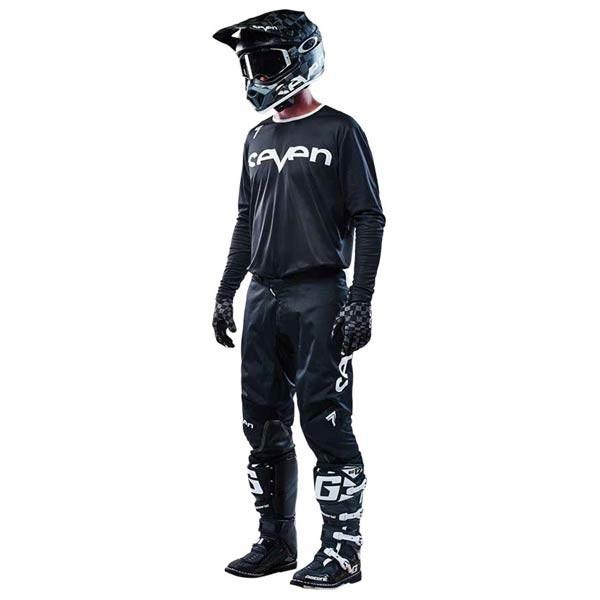Motocross Jersey Seven Annex Staple Black