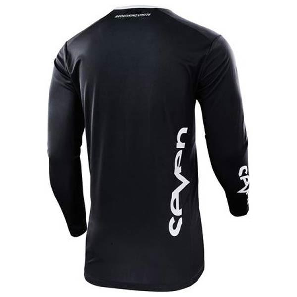 Camiseta Motocross Seven Annex Staple Black