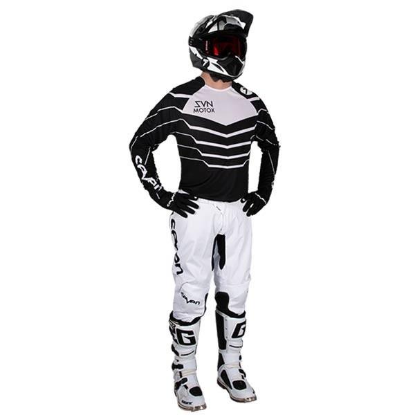 Camiseta Motocross Seven Annex Exo Black