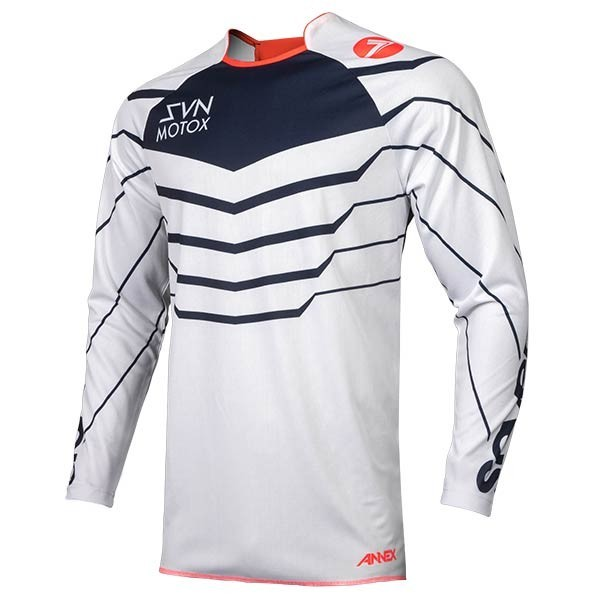 Camiseta Motocross Seven Annex Exo Coral Navy