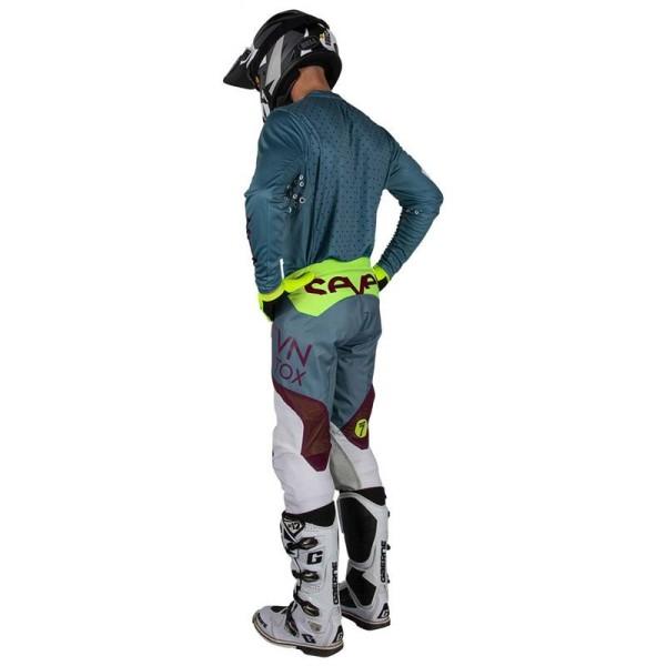 Pantalon Motocross Seven Rival Trooper Steel
