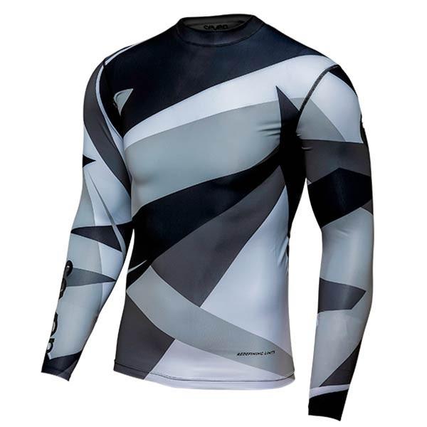 Camiseta Motocross Seven Zero Compression Battleship