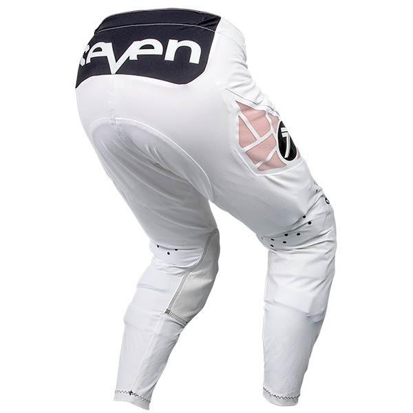 Pantalones Motocross Seven Zero Staple White