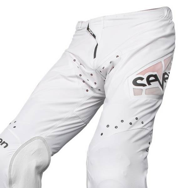 Motocross Pants Seven Zero Staple White