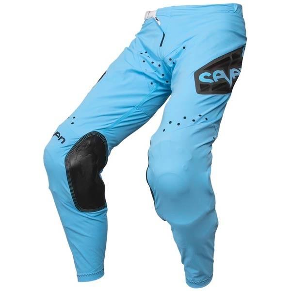 Pantaloni Motocross Seven Zero Raider Blue
