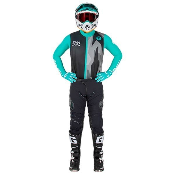 Motocross Hosen Seven Zero Raider Black
