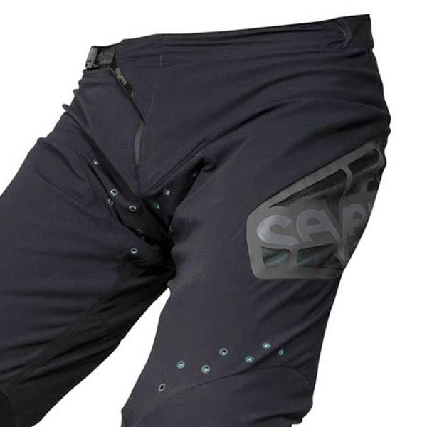 Pantalones Motocross Seven Zero Raider Black